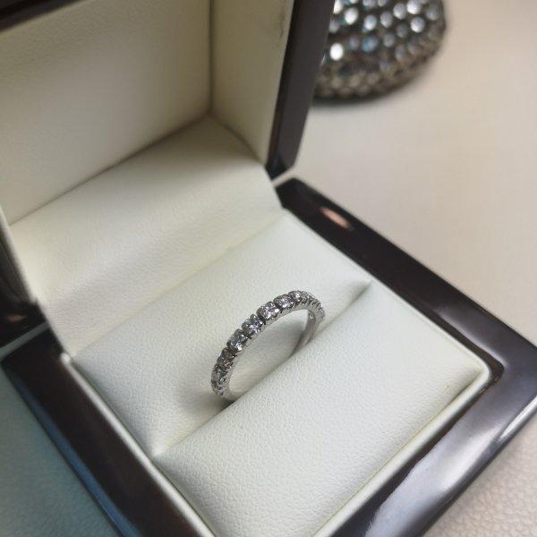 Inel Infinity Aur 18k cu Diamante Naturale