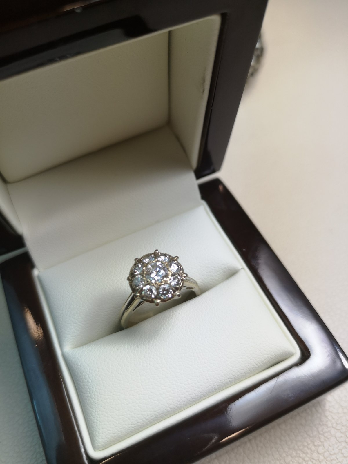 Inel Anturaj Aur 18k cu Diamante Naturale
